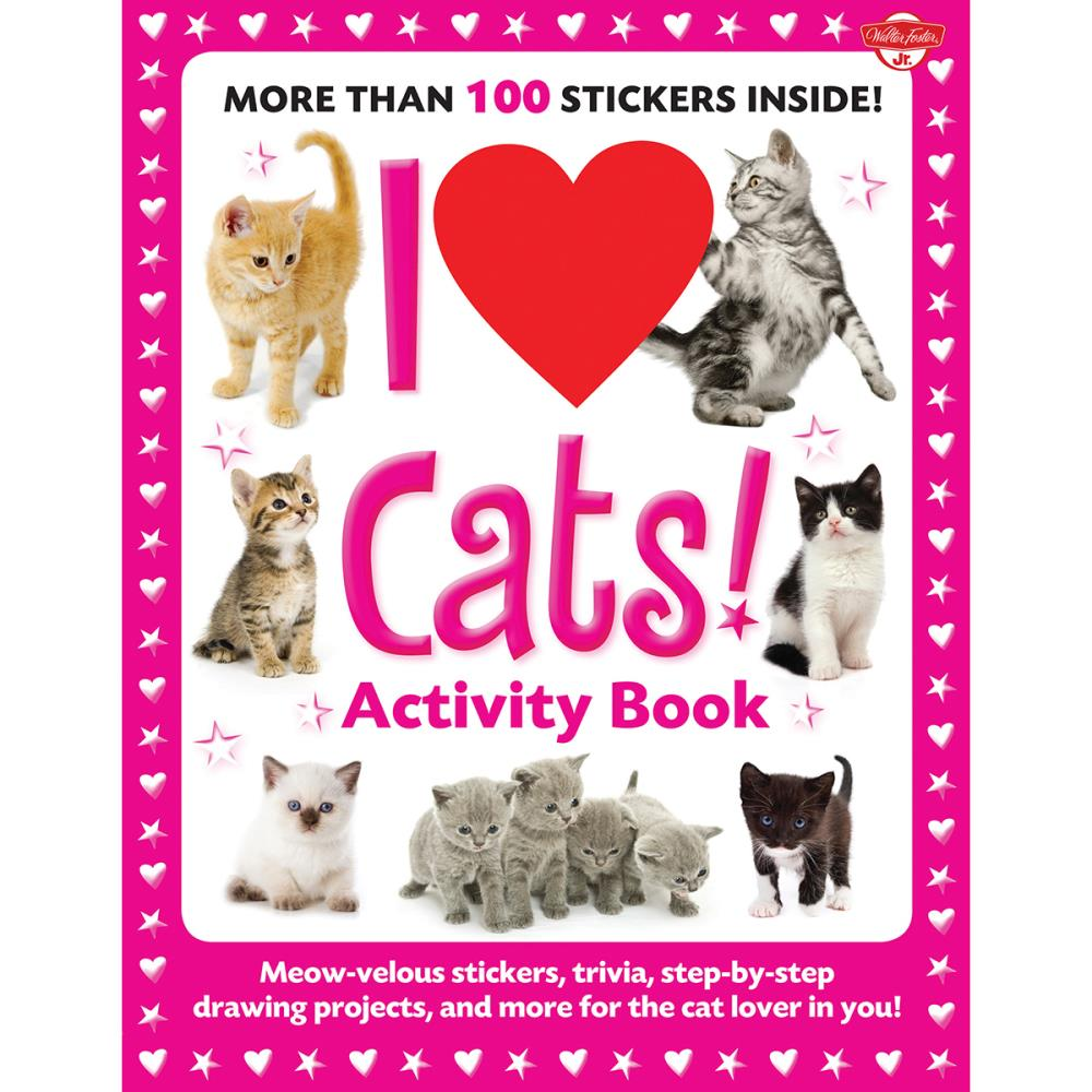 c980d538d I Love Cats Activity Book $9.95/each
