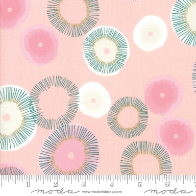 33c8cc510a6 Moda Day in Paris by Zen Chic 1680 13M Pink Blooming Metallic  10.70 yd  PREORDER DUE APRIL MAY  19