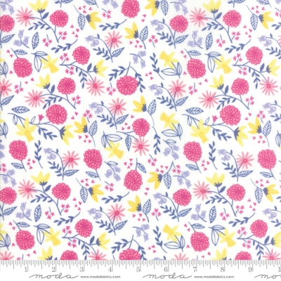 Moda Once Upon a Time by Stacy Iest Hsu 20594 17 Lavender Flower Toss COTTON