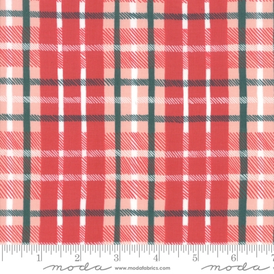 e36d9a9ccdb Moda To Be Jolly by One Canoe Two 36046 17 Red Plaid $10.60/yd PREORDER DUE  APRIL/MAY '19