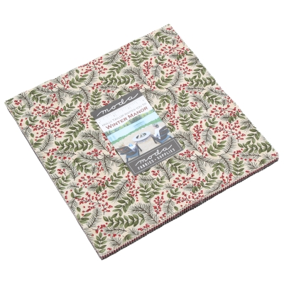 """Moda FABRIC Charm Pack ~ MAPLE ISLAND ~ by Holly Taylor 5/"""" squares"""