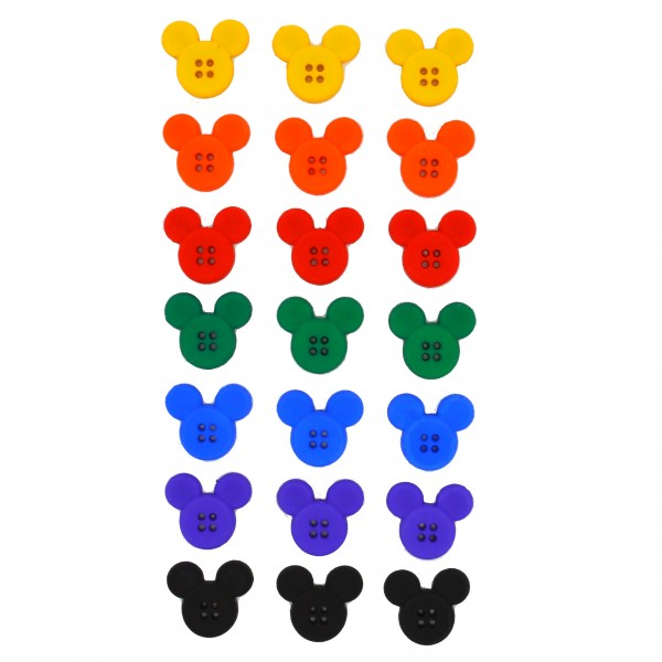 3864872fb2f Dress it UP by Jesse James Sew Thru Mickey Mouse Heads 8433 Buttons  3.99  each