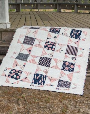 A Touch Of The Tropics Quilt Pattern Pieced//Applique BB
