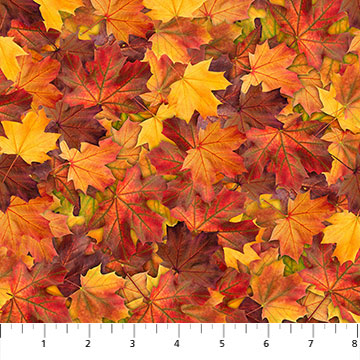 """9 GOLDEN Orange AUTUMN FALL LEAF Small Leaves IRON ON EMBROIDERED APPLIQUE 1.5/"""""""