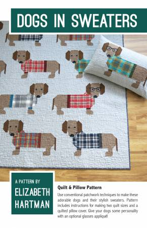 07e377982 Elizabeth Hartman DOGS in SWEATERS Pattern EH034  11.50 each