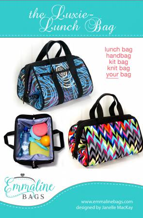 1c5a6bf671 Emmaline Bags Luxie Lunch Bag   EMMB-111 PATTERN  10.75 each
