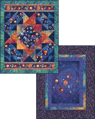 Northcott Stonehenge Out of this world 2172 10 Cosmic Glow Pattern + KIT   99.99 each d71416f9e86